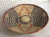 NAVAJO American Indian Blanket/Rug WEDDING BASKETS